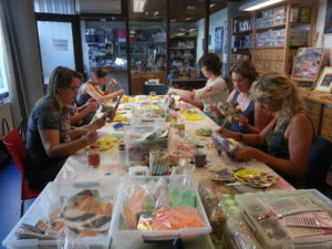 workshop decoupage