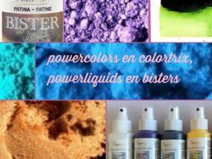 powertex kleuren